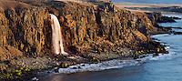 21.05.2008.Waterfall at öxl.Vopnafjörður.Iceland