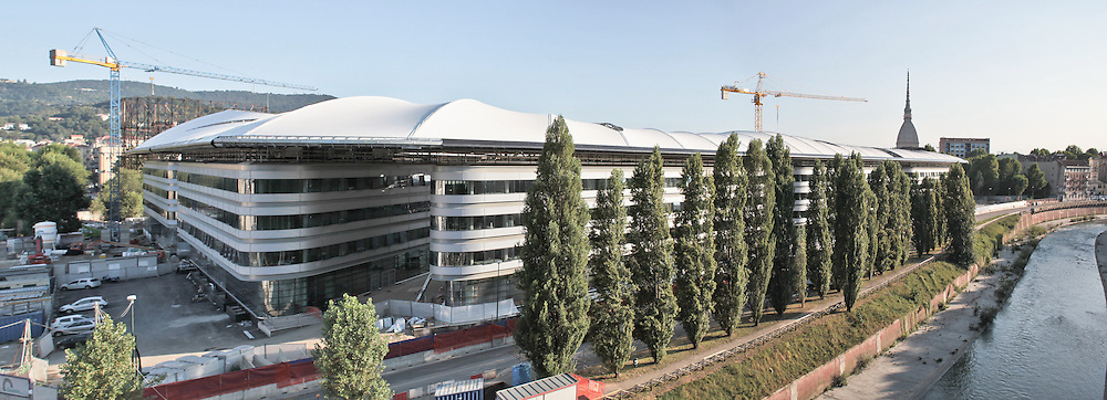 Torino  nuova sede dell'Università  Facoltà di Giurisprudenza e Scienze Politiche area ex Italgas..Progetto: Maire Engineering (capogruppo), Foster and Partners, I.C.I.S., Giugiaro Design, Arch. B. Camerana, Studio Mellano Associati, Studio Buonomo Veglia, Studio Associato CO.PA.CO, Ing. G....