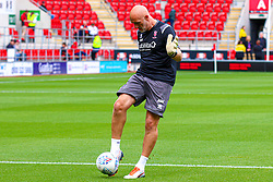 Lincoln City goalkeeping coach Andy Warrington - Mandatory by-line: Ryan Crockett/JMP - 10/08/2019 - FOOTBALL - Aesseal New York Stadium - Rotherham, England - Rotherham United v Lincoln City - Sky Bet League One