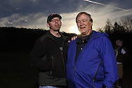 PhotoShelter founder, Grover Sanschagrin, shares a moment with Jim McNay from the Brooks Institute.