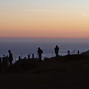 Photographers snap photos from the Marin Headlands in San Francisco, California on Saturday, Sept. 17, 2011. The Golden Gate Bridge is undergoing a re-painting of the main support cables for the first time in 75 years and is expected to be completed by 2015.(AP Photo/Alex Menendez) Golden Gate Bridge in San Francisco, California. Golden Gate Bridge in San Francisco, California.