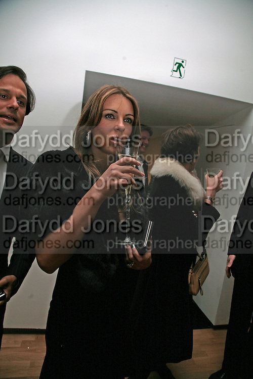 Elizabeth Hurley, ' Show Off' Theo Fennell exhibition co-hosted wit Vanity Fair. Royal Academy. Burlington Gdns. London. 27 September 2007. -DO NOT ARCHIVE-© Copyright Photograph by Dafydd Jones. 248 Clapham Rd. London SW9 0PZ. Tel 0207 820 0771. www.dafjones.com.