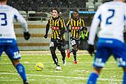 G&Ouml;TEBORG - 2018-02-18: Erik Friberg i BK H&auml;cken kontrollerar bollen under matchen i Svenska Cupen, grupp 4, mellan BK H&auml;cken och IFK V&auml;rnamo den 18 februari 2018 p&aring; Bravida Arena i G&ouml;teborg, Sverige.<br /> Foto: Anders Ylander/Ombrello<br /> ***BETALBILD***