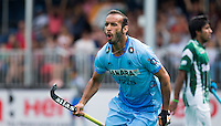 ANTWERP -    Ramandeep Singh of India has scored 2-2 during  the hockeymatch   India v Pakistan.  WSP COPYRIGHT KOEN SUYK