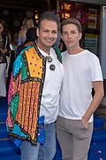 2018, Juli 18. Pathe Tuschinski, Amsterdam. Nederlandse premiere van Mamma Mia 2 Here We Go Again. Op de foto: Barry Paf