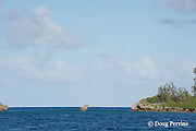 gap between Fofoa Island and Kalau Island, Hunga Lagoon, Vava'u, Kingdom of Tonga, South Pacific