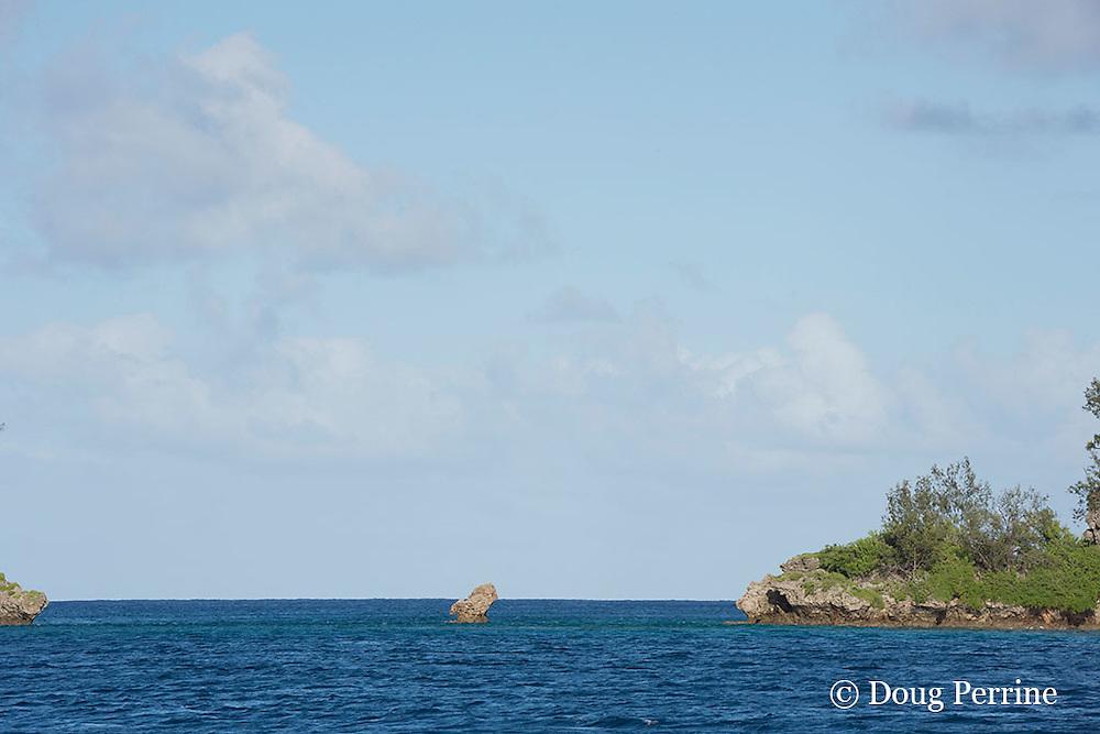gap between Fofoa Island and Kalau Island, Hunga Lagoon, Vava'u, Kingdom of Tonga, South Pacific
