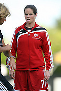 22 July 2009: Rhian Wilkinson (CAN). The United States Women's National Team defeated the Canada Women's National Team 1-0 at Blackbaud Stadium in Charleston, South Carolina in an international friendly soccer match.