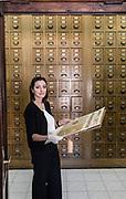 Rome, Vatican Museums, archivist Marta Bezzini
