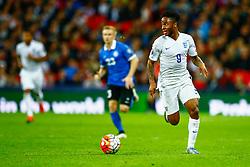Raheem Sterling of England - Mandatory byline: Jason Brown/JMP - 07966 386802 - 09/10/2015- FOOTBALL - Wembley Stadium - London, England - England v Estonia - Euro 2016 Qualifying - Group E