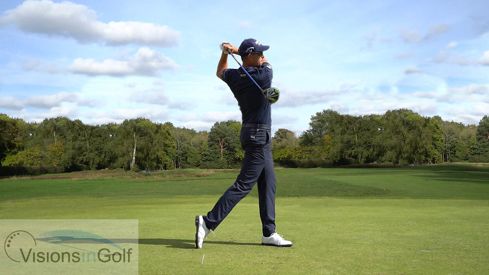 Henrik Stenson<br /> <br /> High Speed Swing Sequence<br /> Face On driver<br /> July 2017<br /> <br /> Golf Pictures Credit by: Mark Newcombe / visionsingolf.com