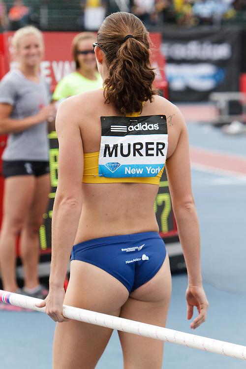 Samsung Diamond League adidas Grand Prix track & field; women's pole vault, Fabiana Murer, BRA,