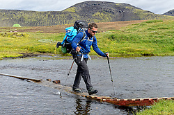 09-07-2014 ISL: Iceland Diabetes Challenge Dag 5, Emstrur<br /> Van Alftavatn naar Emstrur / Nick Baas