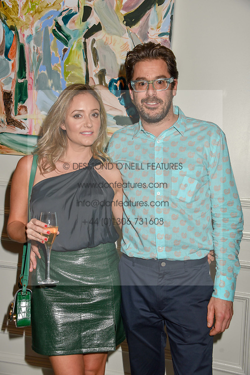 21 November 2019 - Sam Harrison and his girlfriend at the launch of Sam's Riverside Restaurant, 1 Crisp Walk, Hammersmith hosted by owner Sam Harrison, Edward Taylor and Jack Brooksbank.<br /> <br /> Photo by Dominic O'Neill/Desmond O'Neill Features Ltd.  +44(0)1306 731608  www.donfeatures.com