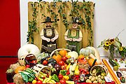 vegetable exhibition at the 2011 Kentucky state fair. Kentucky, USA