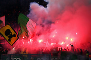 Supporters of Celtic before the UEFA Europa League, Group E football match between SS Lazio and Celtic FC on November 7, 2019 at Stadio Olimpico in Rome, Italy - Photo Federico Proietti / ProSportsImages / DPPI