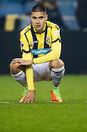 ARNHEM, Vitesse - Willem II 0-2, voetbal, Eredivisie, seizoen 2016-2017, 11-02-2017, Stadion De Gelredome, teleurstelling bij Vitesse speler Kevin Diks.