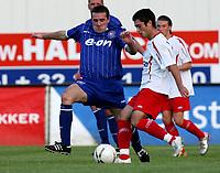 Photo: Maarten Straetemans.<br /> Royal Antwerp v Ipswich Town. Pre Season Friendly. 31/07/2007.<br /> Tommy Miller (left) of Ipswich