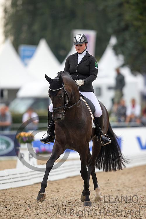 Juliette Piotrowski - Sir Fashion<br /> FEI World Breeding Dressage Championships for Young Horses 2012<br /> © DigiShots
