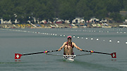2003 - FISA World Cup Rowing Milan Italy.30/05/2003  - Photo Peter Spurrier.SUI W1X  Carolina Luthi... Rowing Course: Idro Scala, Milan, ITALY [Mandatory Credit: Peter Spurrier:Intersport Images]