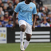 Kolo Toure, Manchester City, in action during the Manchester City V Chelsea friendly exhibition match at Yankee Stadium, The Bronx, New York. Manchester City won the match 5-3. New York. USA. 25th May 2012. Photo Tim Clayton