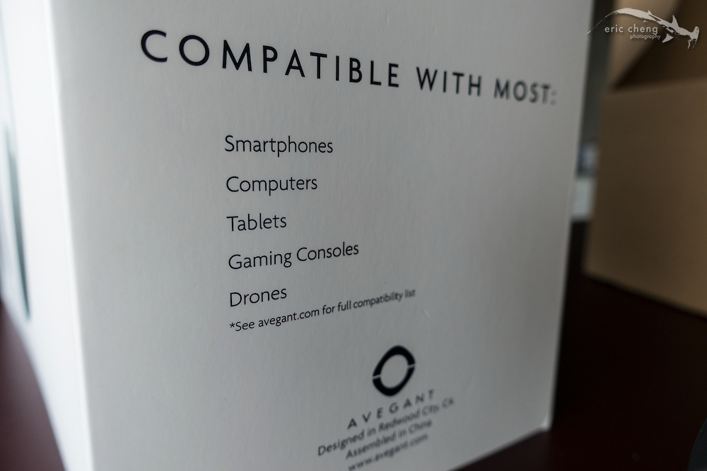 Compatible with... drones! Avegant Glyph Founder's Edition