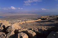 = ruins of massada and the  dead sea   - Israel    +