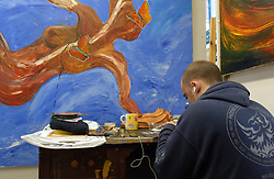 North Tyneside Art Studio; charitable arts organisation which works with people with mental health/ addiction problems, Its ethos is that by encouraging the creativity ; self expression personal development and artistic enterprise of its users they will be able to attain a fuller life experience and play an active part in the cultural enrichment of their lives, UK