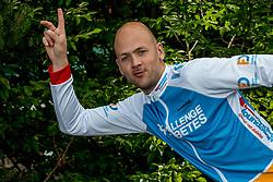 24-06-2017 NED: We Bike 2 Change Diabetes, Landgraaf<br /> Oefenweekend voor 15 deelnemers die in september de Tour de Mont Blanc gaan doen. Jeroen