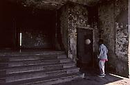 France. Marseille. The entrance of low income housing rue Felix pyat  Marseille  France    /l entrèe des Hlm rue Félix Pyat  Marseille  France  /R00015/42    L2833  /  P0004046