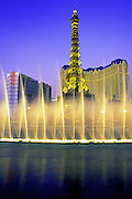 Image of The Strip in Las Vegas, Nevada, American Southwest
