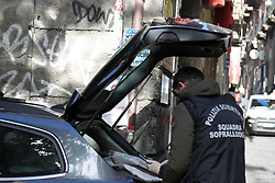 External view and street near PIZZERIA SORBILLO,after attack with bomb Naples, Italy, 16 January 2019  (Credit Image: © Esposito Salvatore/Soevermedia via ZUMA Press)