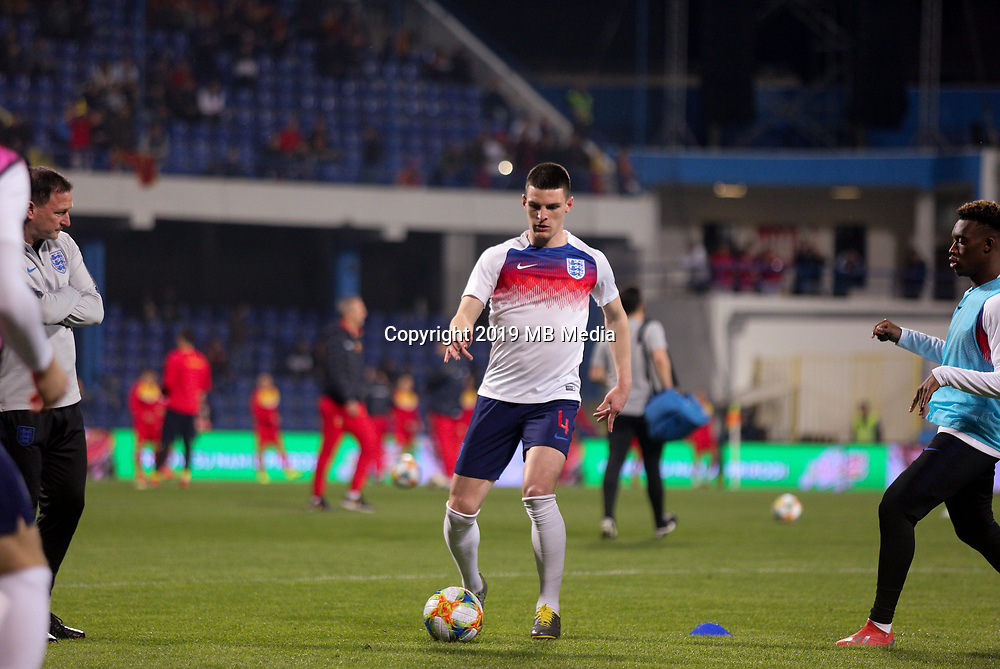 PODGORICA, MONTENEGRO - MARCH 25: England's Eric Dier before the 2020 UEFA European Championships group A qualifying match between Montenegro and England at Podgorica City Stadium on March 25, 2019 in Podgorica, Montenegro. (MB Media)
