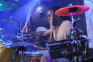 Will Calhoun at the Highline Ballroom in New York on October 30, 2009. � Lia Chang