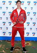 Warsaw, Poland - 2017 December 11: Tennis' player Wojciech Marek from Poland poses to the picture while Photo Session of Davis Cup Team of Polish Tennis Association at Regent Hotel on December 11, 2017 in Warsaw, Poland.<br /> <br /> Mandatory credit:<br /> Photo by &copy; Adam Nurkiewicz / Mediasport<br /> <br /> Adam Nurkiewicz declares that he has no rights to the image of people at the photographs of his authorship.<br /> <br /> Picture also available in RAW (NEF) or TIFF format on special request.<br /> <br /> Any editorial, commercial or promotional use requires written permission from the author of image.