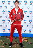 Warsaw, Poland - 2017 December 11: Tennis' player Wojciech Marek from Poland poses to the picture while Photo Session of Davis Cup Team of Polish Tennis Association at Regent Hotel on December 11, 2017 in Warsaw, Poland.<br /> <br /> Mandatory credit:<br /> Photo by © Adam Nurkiewicz / Mediasport<br /> <br /> Adam Nurkiewicz declares that he has no rights to the image of people at the photographs of his authorship.<br /> <br /> Picture also available in RAW (NEF) or TIFF format on special request.<br /> <br /> Any editorial, commercial or promotional use requires written permission from the author of image.