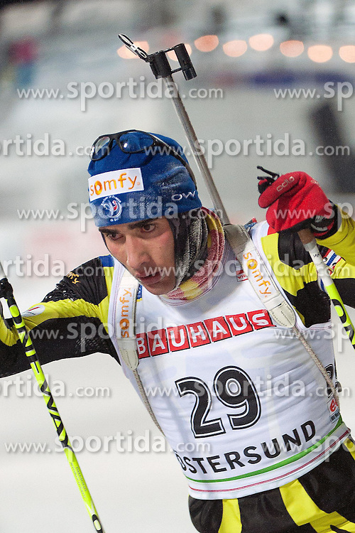 02.12.2010, Skistadium, Östersund, SWE, IBU Biathlon Worldcup, Herren, 20Km, im Bild Martin Fourcade, EXPA Pictures © 2010, PhotoCredit: EXPA/ Skycam/ Thomas Degerström        +++++ ATTENTION - OUT OF SWEDEN/SWE+++++