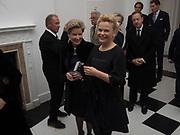 JANIE HARRIS; NADINE SCHATZ, Opening of Galerie Thaddaeus Ropac London, Ely House, 37 Dover Street.. Mayfair. London. 26 April 2017.
