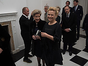 JANIE HARRIS; NADINE SCHATZ, Opening of Galerie Thaddaeus Ropac London, Ely House, 37 Dover Street.. Mayfair. London. 26 April 2017.