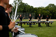 Shadow Drum and Bugle Corps performs at Middleton High School in a Drum Corps International (DCI) competition in Middleton, Wisconsin on July 9, 2017. <br /> <br /> Beth Skogen Photography - www.bethskogen.com