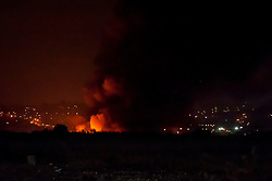 Firefighters are tackling a large blaze at a single storey warehouse on a Sheffield Industrial Estate just off Station Road in Ecclesfield close to South Yorkshire Police Sub Divisional HQ and Chapeltown Academy. The fire started just after 9.30pm this evening and a number of loud explosions have been heard during the course of the night.<br />