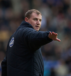 Wigan, England - Sunday, January 21, 2007: Wigan Athletic's manager Paul Jewell during the Premier League match against Everton at the JJB Stadium. (Pic by David Rawcliffe/Propaganda)