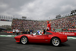 October 28, 2018 - Mexico-City, Mexico - Motorsports: FIA Formula One World Championship 2018, Grand Prix of Mexico, ..#7 Kimi Raikkonen (FIN, Scuderia Ferrari) (Credit Image: © Hoch Zwei via ZUMA Wire)