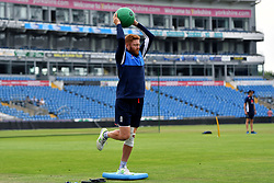 England's Jonny Bairstow during a nets session at Headingley Carnegie, Leeds.