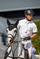 Thijssen Leon, NED, Faithless MVDL<br /> Nederlands Kampioenschap Springen<br /> De Peelbergen - Kronenberg 2020<br /> © Hippo Foto - Dirk Caremans<br />  06/08/2020
