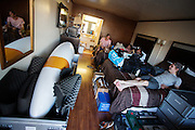Het HPT is aangekomen in Battle Mountain. In september wil het Human Power Team Delft en Amsterdam, dat bestaat uit studenten van de TU Delft en de VU Amsterdam, een poging doen het wereldrecord snelfietsen te verbreken, dat nu op 133,8 km/h staat tijdens de World Human Powered Speed Challenge.<br /> <br /> The HPT has arrived in Battle Mountain. With the special recumbent bike the Human Power Team Delft and Amsterdam, consisting of students of the TU Delft and the VU Amsterdam, also wants to set a new world record cycling in September at the World Human Powered Speed Challenge. The current speed record is 133,8 km/h.