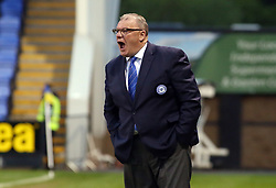 Peterborough United Manager Steve Evans shouts instructions from the touchline - Mandatory by-line: Joe Dent/JMP - 24/04/2018 - FOOTBALL - Montgomery Waters Meadow - Shrewsbury, England - Shrewsbury Town v Peterborough United - Sky Bet League One