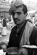 Breakfast in the market. Sanaa.