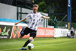 Žan Karničnik of Mura during football match between NŠ Mura and NK Domžale in 30th Round of Prva liga Telekom Slovenije 2019/20, on June 28, 2020 in Fazanerija, Murska Sobota, Slovenia. Photo by Blaž Weindorfer / Sportida