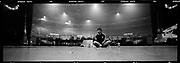 Liam Gallagher rehearsing in Birmingham, 2006.